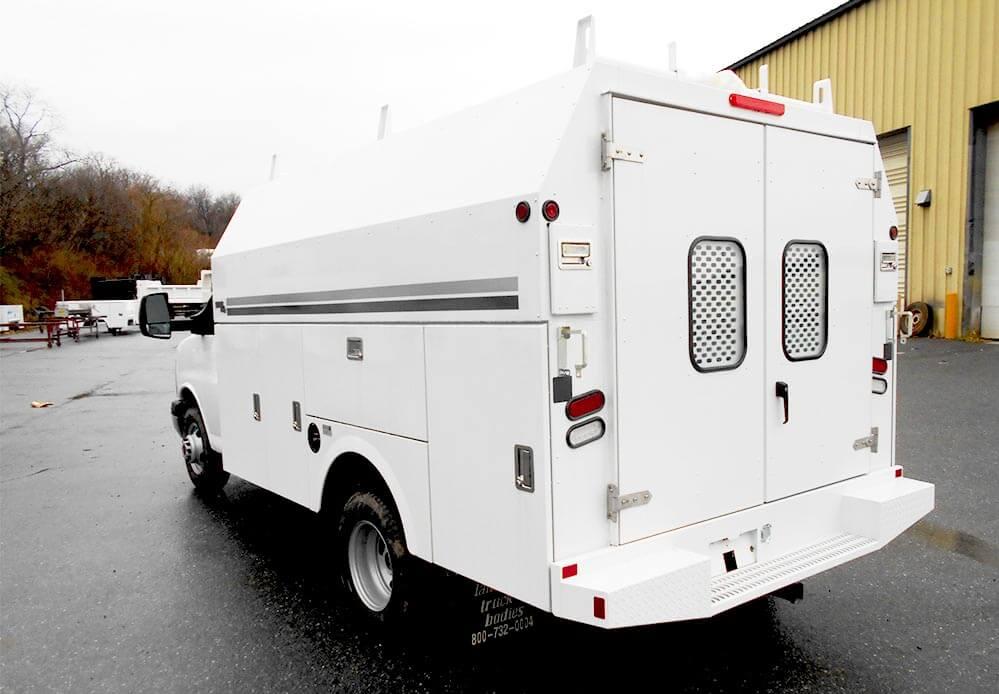 stahl usv van body | lancaster truck bodies