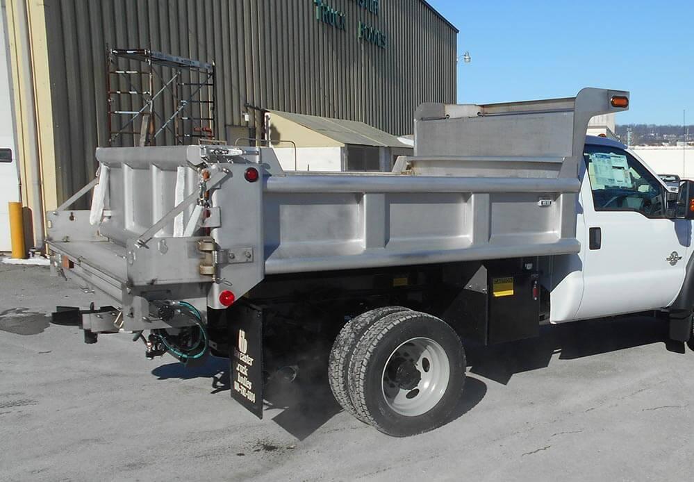 Galion Stainless Steel Dump Body | Lancaster Truck Bos